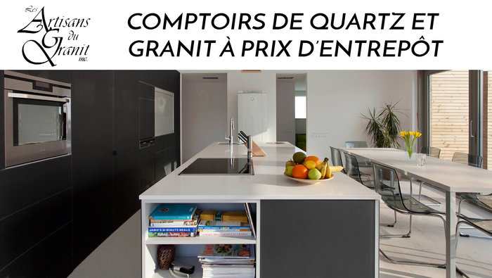 comptoirs quartz granite meilleur prix. Black Bedroom Furniture Sets. Home Design Ideas