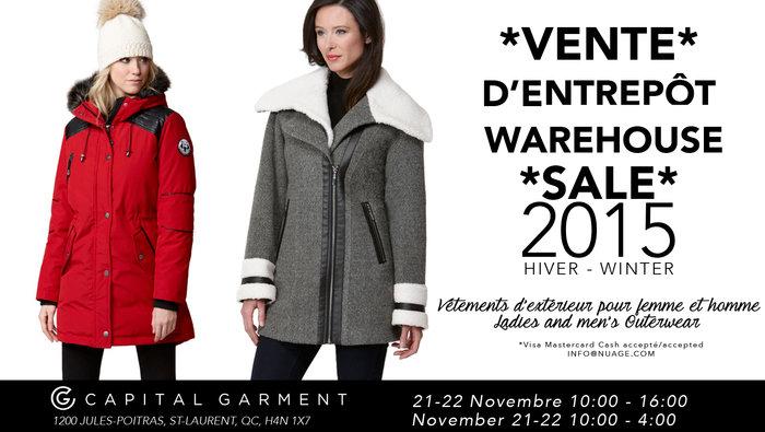 Vente manteau hiver femme montreal