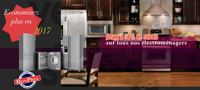 Centres de liquidation d 39 lectrom nagers for Centre liquidation meuble montreal