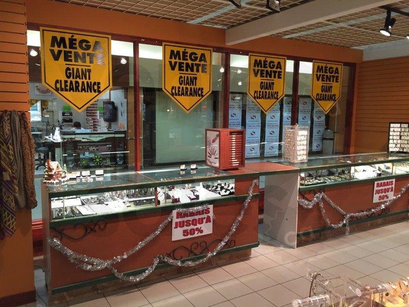 Liquidation de bijoux jusqu 39 50 for Centre liquidation cuisine