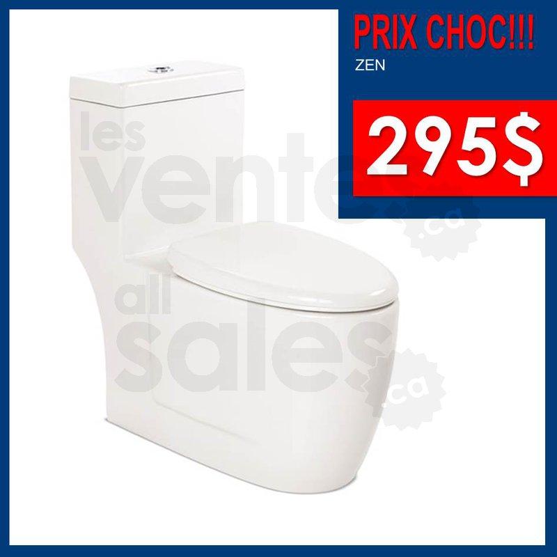 Prix choc lavabos douches toilettes for Liquidation salle de bain laval