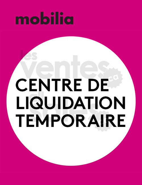 Mobilia centre de liquidation for Entrepot de liquidation