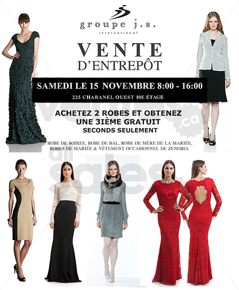Vente entrep t robes cocktail et soir e for Entrepot de liquidation