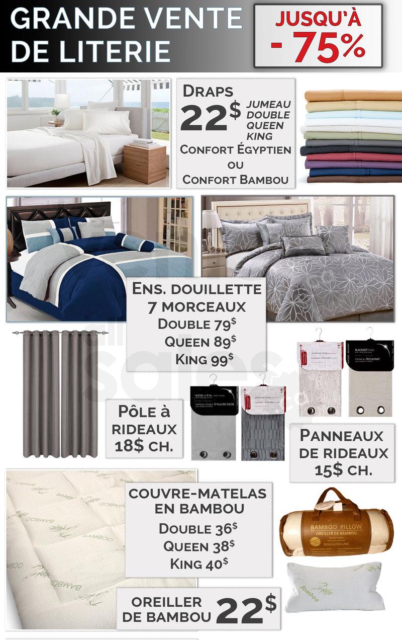 draps et ensembles de douillettes 75. Black Bedroom Furniture Sets. Home Design Ideas