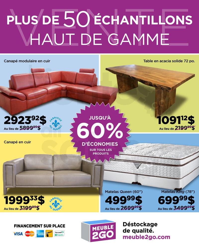 Vente chantillons meuble matelas 60 for Mega meuble langelier