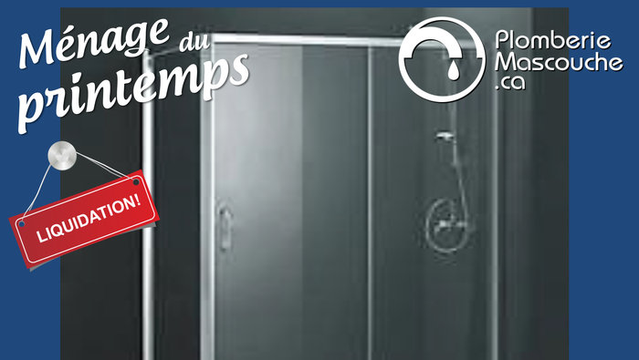 Douche bain robinetterie jusqu 39 50 for Liquidation salle de bain laval