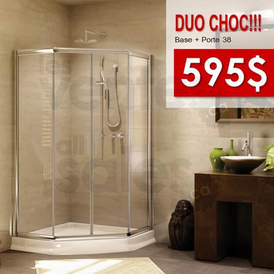 Douches et vanit s salle de bain 20 50 for Liquidation salle de bain laval