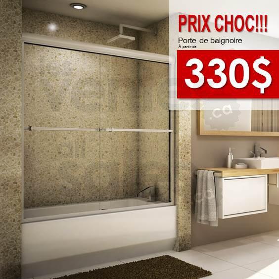 Douches et vanit s salle de bain 20 50 for Liquidation salle de bain montreal