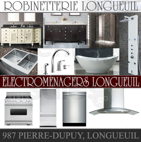 Robinetterie lectrom nagers longueuil for Liquidation electromenager longueuil