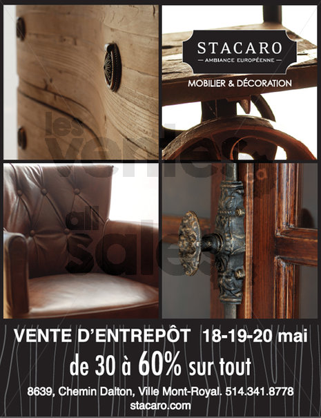 Vente entrep t mobilier d coration 60 for Entrepot meuble