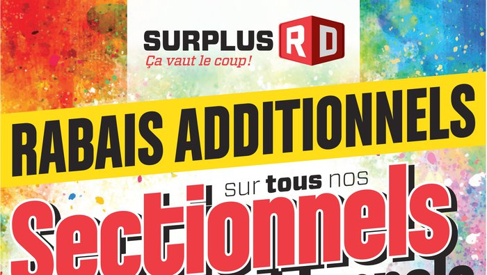 Surplus rd liquidation de meubles for Liquidation electromenager rive sud