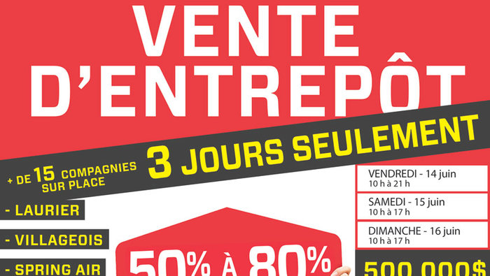 Vente entrep t de mobilier 50 80 for Le meuble villageois