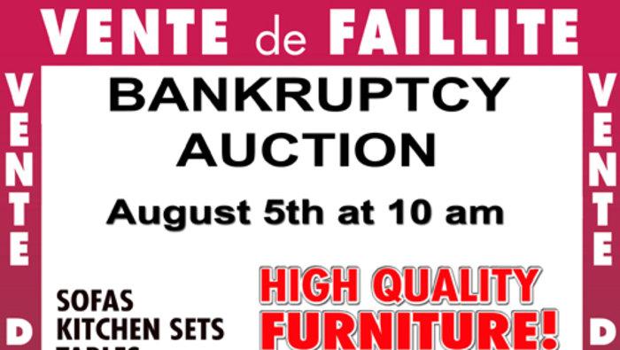 Encan meubles haut de gamme for Centre de liquidation meubles montreal