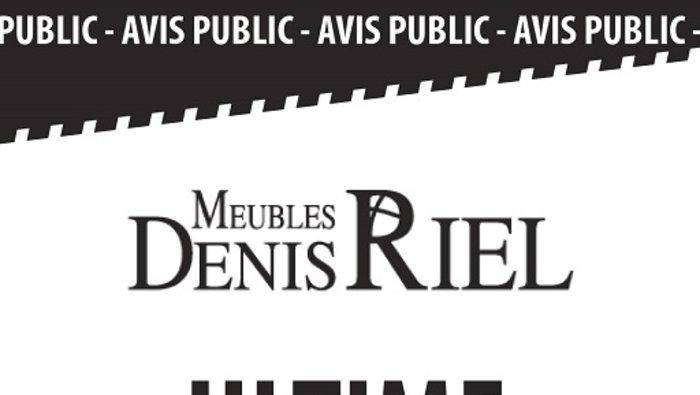 Liquidation ultime meubles denis riel for Meuble ashley liquidation