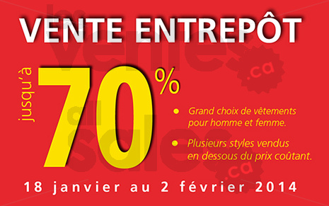 Boutique option flyer 20140117 flyer for Entrepot de liquidation