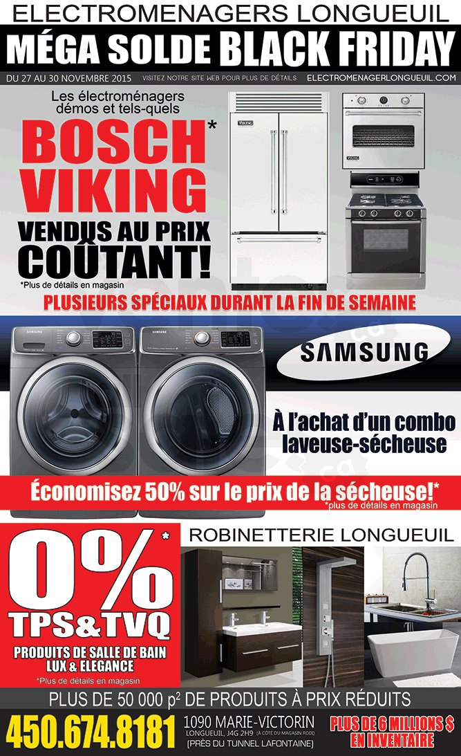 M ga solde lectrom nagers robinetterie for Liquidation matelas longueuil