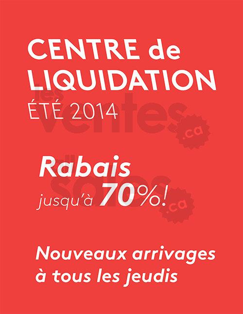 Mobilia centre de liquidation rabais 70 for Centre de liquidation meuble