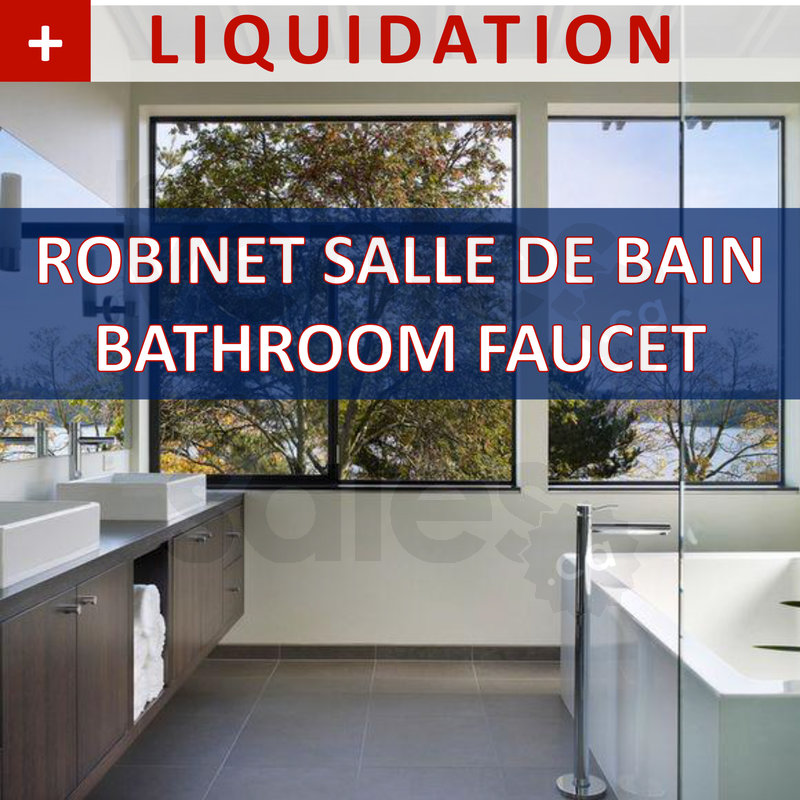Liquidations 20 70 de rabais for Liquidation salle de bain laval