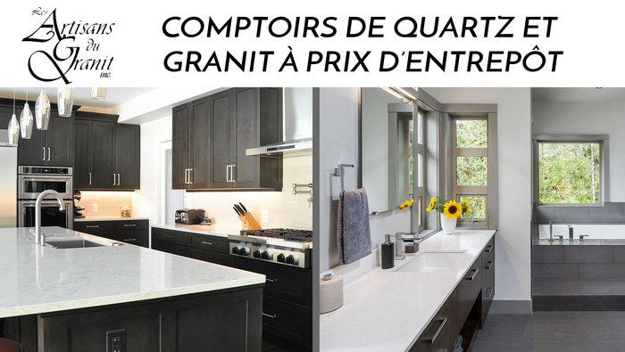 comptoirs quartz granit meilleur prix. Black Bedroom Furniture Sets. Home Design Ideas