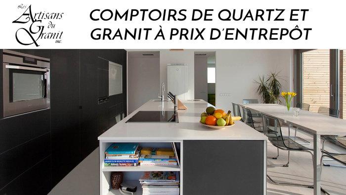 Comptoirs Quartz Granite Meilleur Prix
