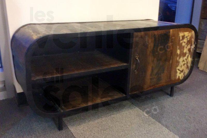 Meubles en bois artisanal jusqu 39 50 for Entrepot de meuble montreal
