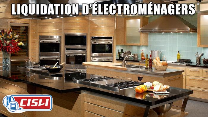 Lectros jusqu 39 50 bosch lg ge et for Liquidation electromenager montreal