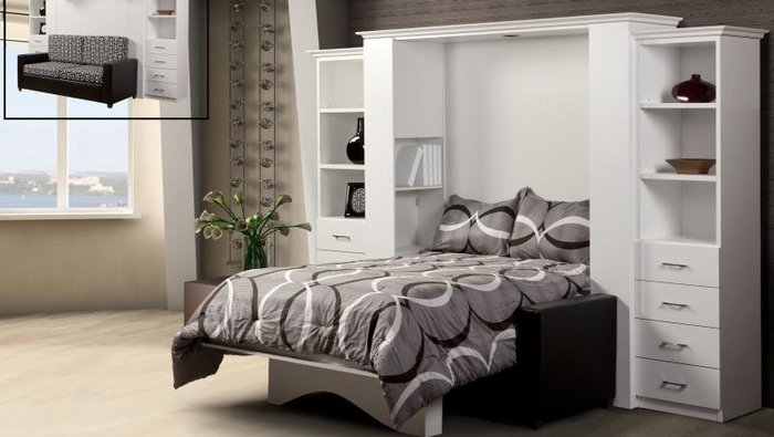 lit mural partir de 699 taxes pay es. Black Bedroom Furniture Sets. Home Design Ideas