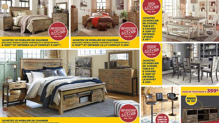 Meubles davantage promo jusqu 39 50 for Entrepot liquidation meubles et matelas