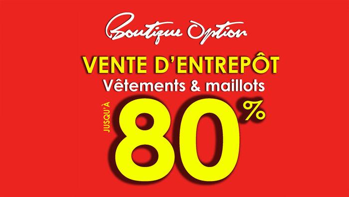 Vente d 39 entrep t v tements maillots 80 for Meuble aubaine mascouche