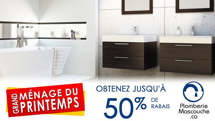 Cuisines salles de bain jusqu 39 50 for Liquidation salle de bain laval