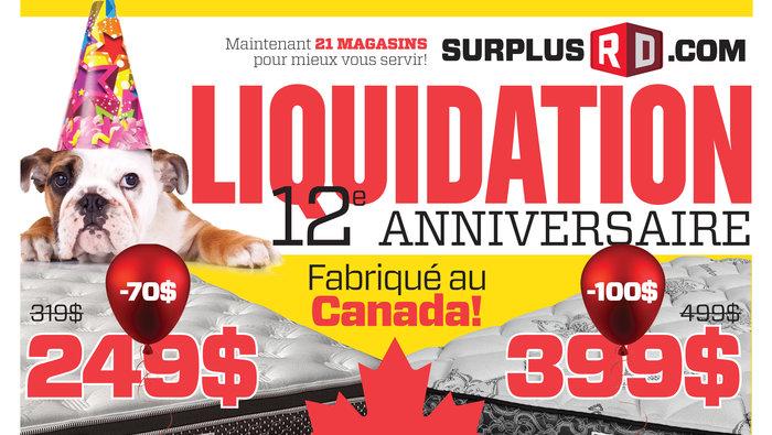 Liquidation anniversaire sofas meubles for Liquidation causeuse