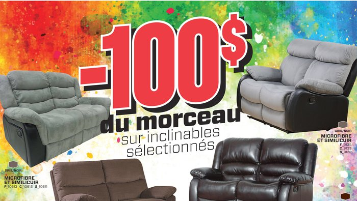 Surplus rd liquidation de meubles for Liquidation meuble chicoutimi